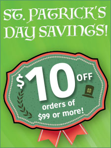 $10 off orders over $99!
